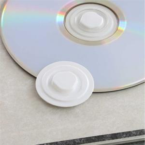 Discos de polietileno para CD com base autocolante