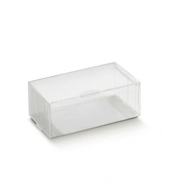 Prisma transparente com abertura horizontal