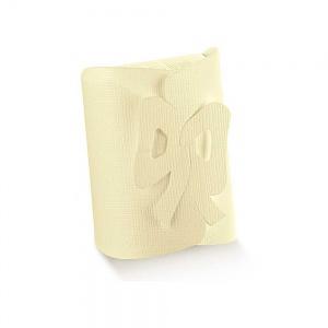 Caixa em cartolina linho marfim com laço