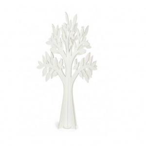 Árvore em cartão branco
