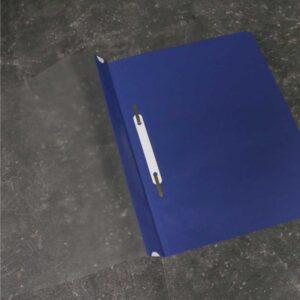 Classificador para A4 com visor e ferragem (azul)