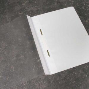 Classificador para A4 com visor e ferragem (branco)