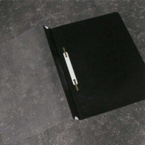 Classificador para A4 com visor e ferragem (preto)