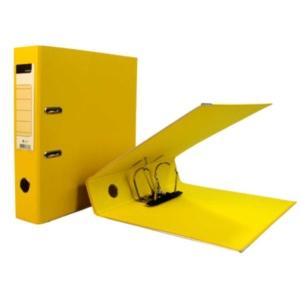 Arquivador amarelo formato A4