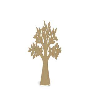 Árvore em cartão kraft
