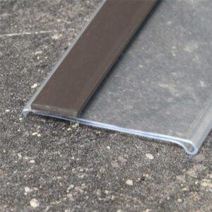 Perfil de prateleira com magnético