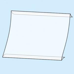 Placard de duas dobras