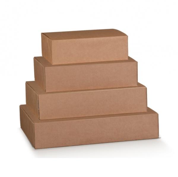 Caixa de envio em cartão kraft