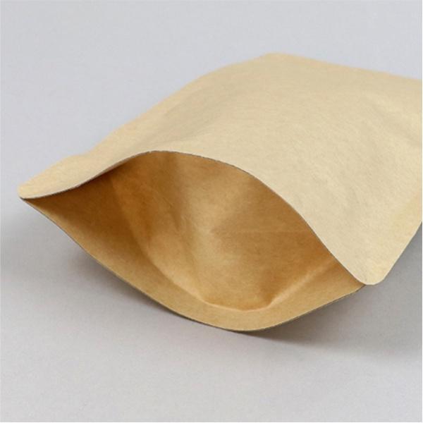 Envelopes em kraft com fundo em fole para alimentos