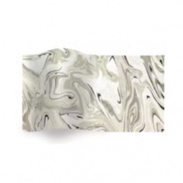 Folha de papel de seda mármore